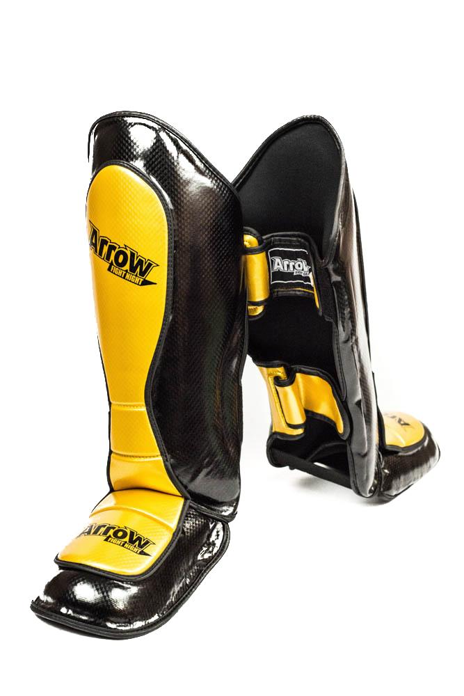 ARROW karboninės kojų apsaugos auksinės